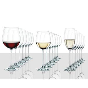 Vivendi Crystal Wine Glass Set