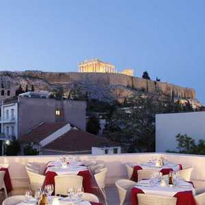 A Romantic Dinner with Acropolis View