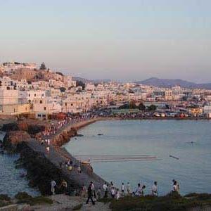 Dinner in Naxos. Lets visit Chora!