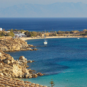 A Day at the Beach of Platys Yialos