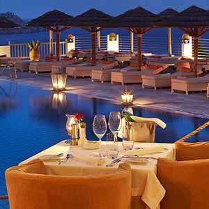 Dinner in Mykonos. Wow!